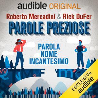 """Da OGGI: """"Parole Preziose"""" con Roberto Mercadini, solo su AUDIBLE"""