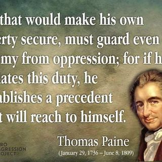 Episode 1194 - Thomas Paine, Passionate Pamphleteer for Liberty