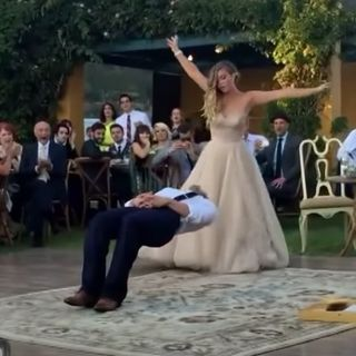 Help us decide if this is either the BEST or WORST wedding idea of all time!