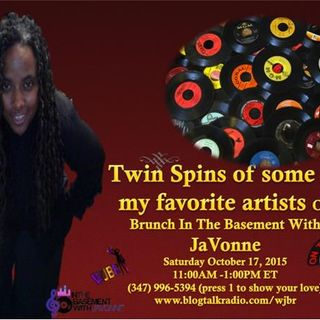Twin Spins on Brunch In The Basement With JaVonne