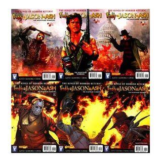"Source Material #050 - Freddy vs Jason vs Ash ""Nightmare Warriors"""