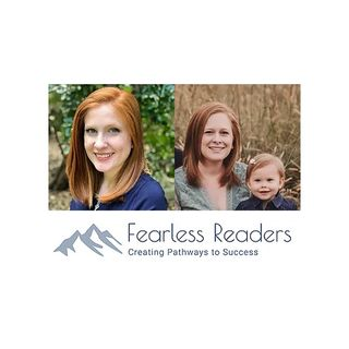 Fearless Readers - Founder Caitlyn Baker and Social Media & Events Director Shannon Ruddell