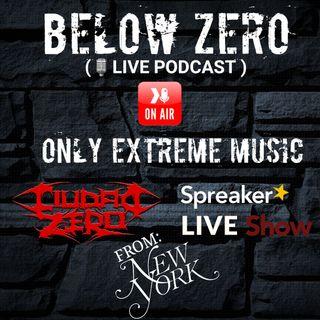 BELOW ZERO LIVE PODCAST