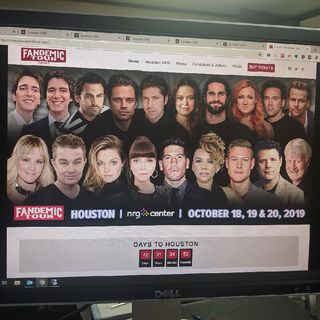 I Am Going To Fandemic Tour Houston 2019