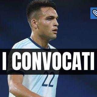 L'elenco di tutti i giocatori dell'Inter convocati in Nazionale