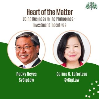 Doing Business in The Philippines - Investment Incentives