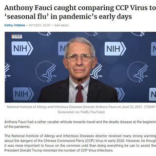 Dr Fuchi Fuchi got Cought on his own lie
