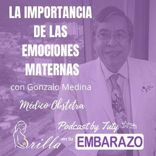 La importancia de las emociones maternas - con Gonzalo Medina Aveledo