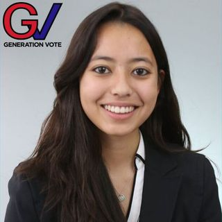 Brianna Cea with Generation Vote