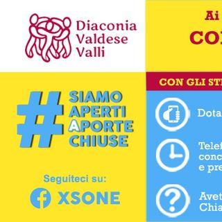 #siamoapertiaportechiuse: strutture della Diaconia Valdese