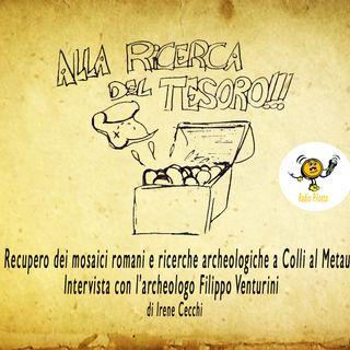 Recupero dei mosaici romani e ricerche archeologiche a Colli al Metauro (PU)