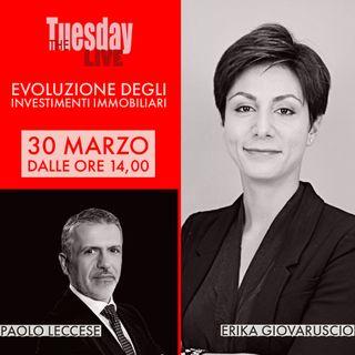 👉  L' EVOLUZIONE DEGLI INVESTIMENTI IMMOBILIARI intervista ad Erika Giovaruscio 👈