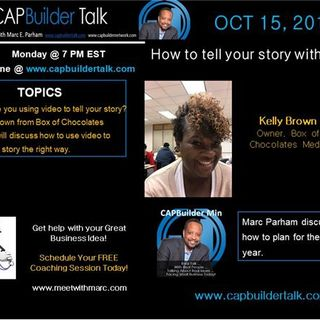 CAPBuilder Talk - How to tell your story with video