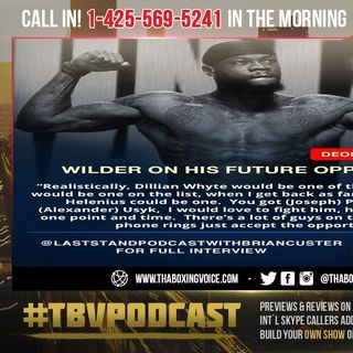☎️Deontay Wilder: Floyd Mayweather Don't Like Me😱So Why Does He Now Want To Train Me❗️👀