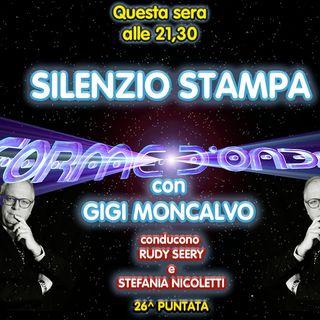 """Forme d'Onda - """"Silenzio Stampa"""" di Gigi Moncalvo - 06/05/2021"""