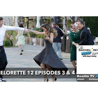 Bachelorette Season 12 Episodes 3 & 4 | Chad-ageddon