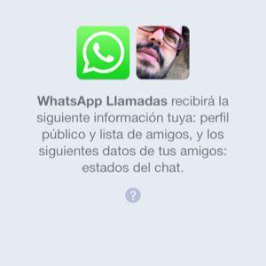 Llamadas de WhatsApp o cazatontos?