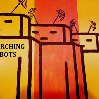Marching Robots