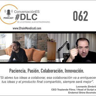 Episodio 62 ConversaciónES #DLC con Leonardo Zimbron