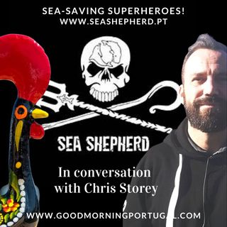 Portugal news, weather & today: Sea Shepherd's Chris Storey