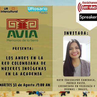 Los Andes en la Red Colombiana de Mujeres Indígenas en la Academia