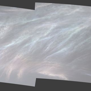 The Pearly Clouds of Mars