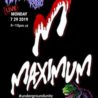 maximum overlod 7/29/19 Replicon Radio