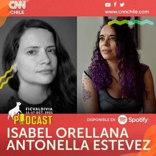 ISABEL ORELLANA Y ANTONELLA ESTEVEZ 🎧 Q&A Podcast 28º Festival Internacional de Cine de Valdivia
