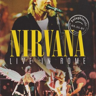 Especial NIRVANA LIVE IN ROME 1994 Classicos do Rock Podcast #Nirvana #LiveInRome #School #Polly #EspecialCDRPOD #Sliver