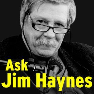 Ask Jim Haynes at Edinburgh Napier
