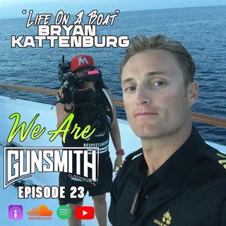 "W.A.G. Episode 23: Bryan Kattenburg ""Life on a Boat"""