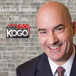 Quentin Brogdon LIVE on KOGO 600 || Kevin Spacey in court on sexual assault charge