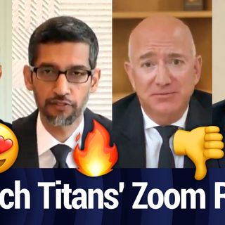 Rating the Antitrust Tech CEOs' Zoom Backgrounds | TWiT Bits