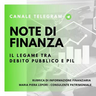 Note di Finanza | Il Legame Debito Pubblico e PIL