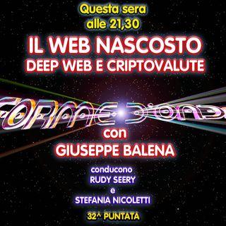 Forme d'Onda - Giuseppe Balena - Il Web Nascosto: Deep Web e Criptovalute - 32^ puntata (18/06/2020)