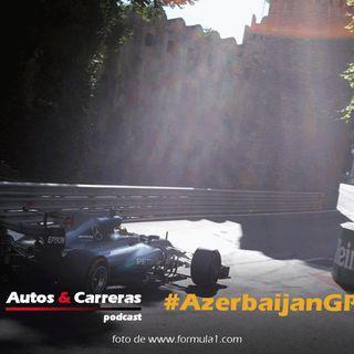 #F1 Mercedes en primera fila para el GP de Azerbaijan