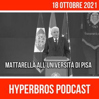 Il discorso di Sergio Mattarella all'Università di Pisa
