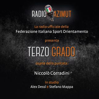 "Nicolò Corradini a ""Terzo Grado"" - 38^ puntata"