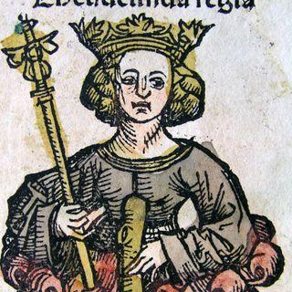 32 - Teodolinda, grande regina longobarda e amica della Chiesa