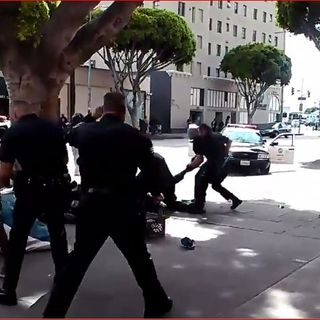 LAPD fatal shooting caught on video tape