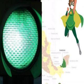 Campeche, primer estado en semáforo epidemiológico color verde