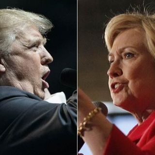 Hillary Clinton and Donald Trump's Dueling Speeches
