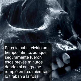 Cráneo 😱 El cuerpo partido en tres. #terror #suspense