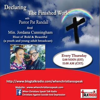 """LIBERTY IN CHRIST"" PART 2  with Guest, Minister Jordana - (DTFW REPLAY)"
