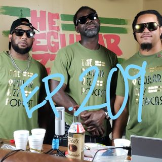 """Episode 209 """"Sausey or Sause-E?"""" Featuring Black Kat"""