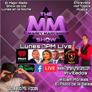 Tonight Entrevista Al Piloto de la Salsa Willie Morales| Joselo Mil Voces| HotTopics|Musica