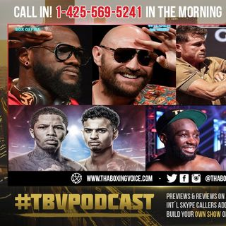 ☎️ Tyson Fury vs. Deontay Wilder 3 Predictions🔥Canelo vs Plant🤑Tank vs Rollies Crawford vs Porter❗️