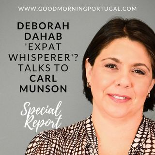 The 'Expat Whisperer'? Deborah Dahab talks to Good Morning Portugal!