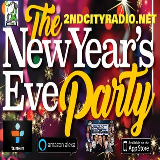 New Years's Eve Live with Chris and Mandy on 2ndcityradio.net