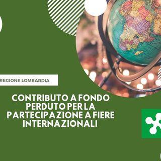 MPMI della Regione Lombardia, contributi per le fiere internazionali